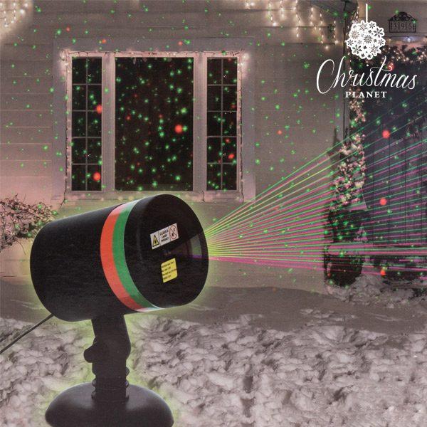 xekios Projecteur Laser de Noël avec Capteur Christmas Planet