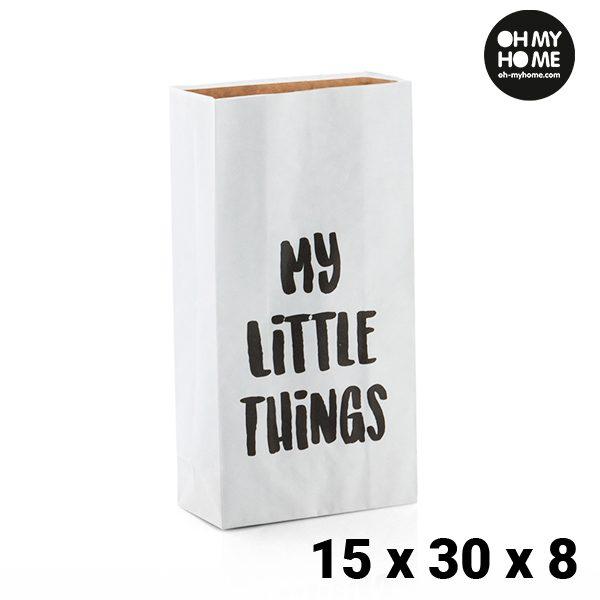 xekios Petit Sac en Papier Oh My Home (15 x 30 x 8 cm)
