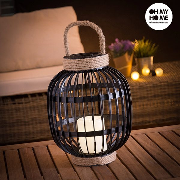 xekios Lanterne Solaire avec Bougie LED Oh My Home