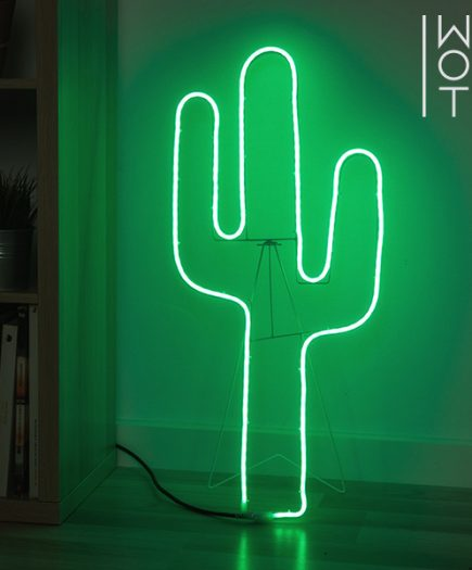 xekios Cactus LED avec Chevalet Wagon Trend