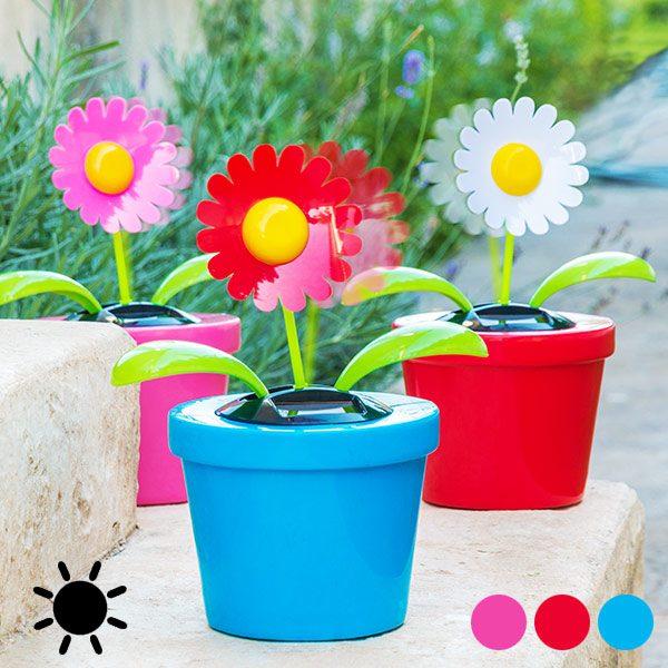 xekios Fleur Décorative Solaire avec Mouvement