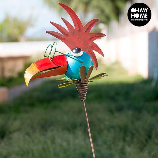 xekios Oiseau Métallique Décoratif pour Jardins