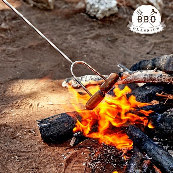 xekios Fourchette extensible pour Barbecue BBQ Classics