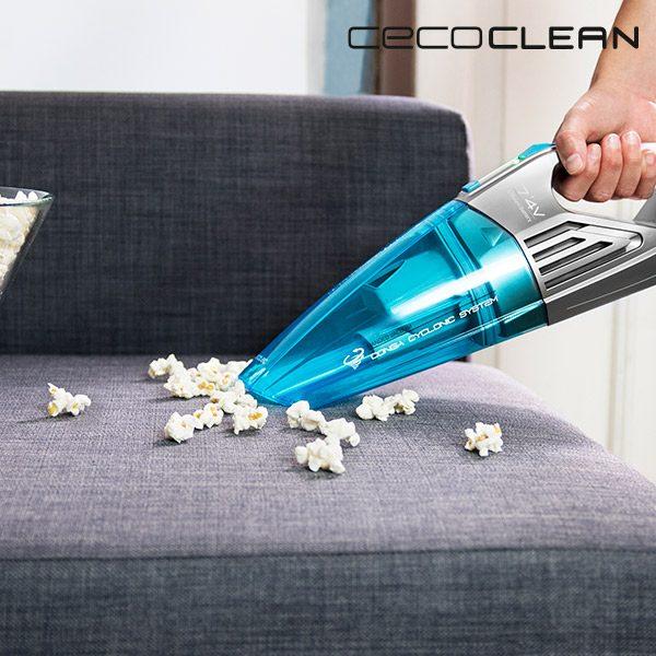 xekios Aspirateur à Main Cyclonique Cecoclean PowerHand Wet 5066 0,5 L 7,4 V Gris Bleu