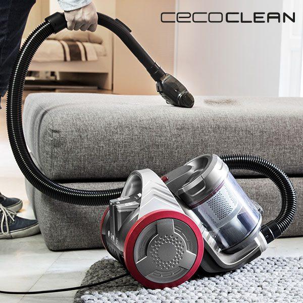 xekios Aspirateur Multi-Cyclonique Cecoclean Eco Extreme 3000 5068 3,5 L 700W Gris Rouge