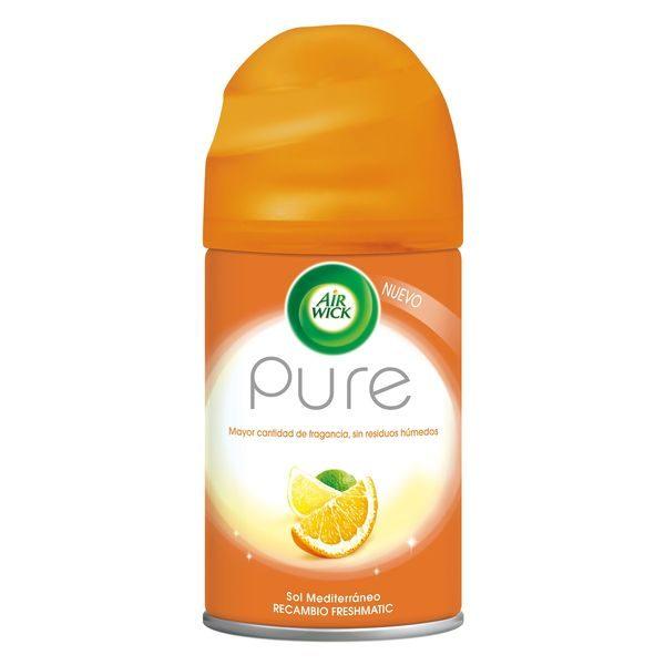 xekios Recharge pour Diffuseur Air Wick FreshMatic Pur Soleil Méditerranéen 250 ml