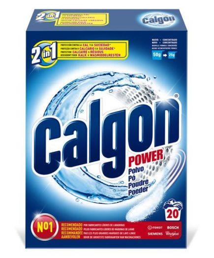 xekios Anti-calcaire Calgon en Poudre 500 g (20 Doses)