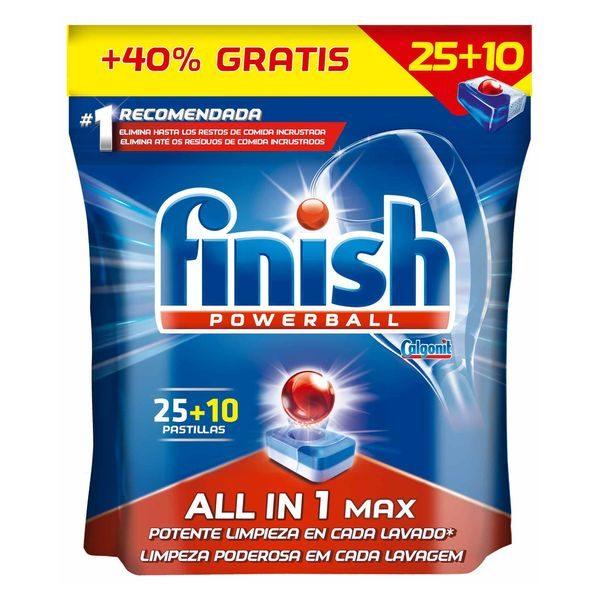 xekios Tablettes pour Lave-vaisselle Finish Tout en Un Regular (35 Doses)