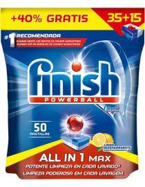 xekios Tablettes pour Lave-vaisselle Finish Tout en Un Citron (35 Doses)