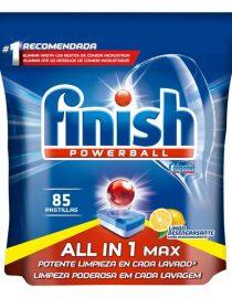 xekios Tablettes pour Lave-vaisselle Finish Quantum Tout en Un Regular (85 Doses)