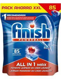 xekios Tablettes pour Lave-Vaisselle Finish Quantum Tout en 1 Citron (85 Doses)