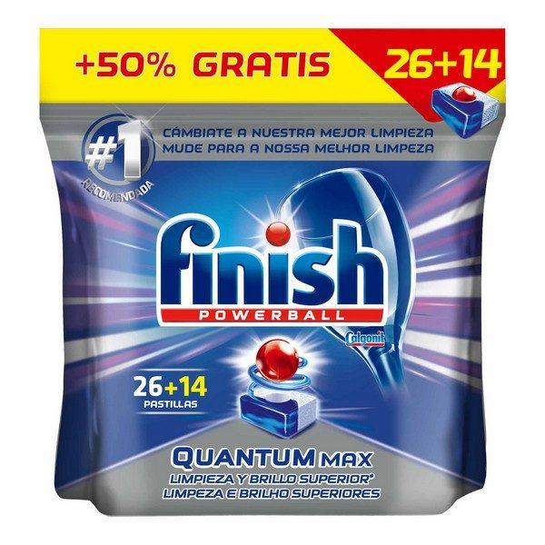 xekios Tablettes pour Lave-Vaisselle Finish Quantum Regular (40 Doses)