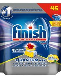 xekios Pastilles pour Lave-vaisselle Finish Quantum Citron (48 U)