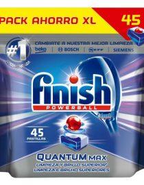 xekios Tablettes pour Lave-Vaisselle Finish Quantum Regular (64 Doses)