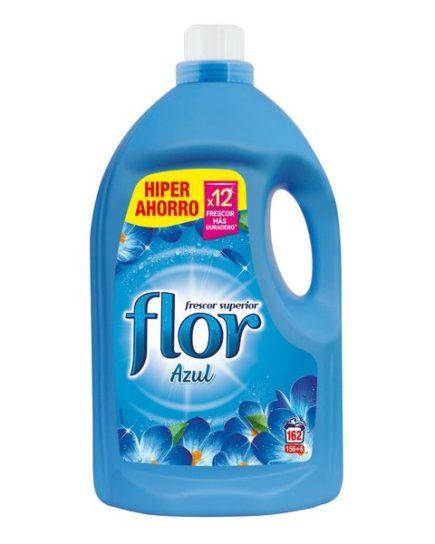xekios Adoucissant pour les Vêtements Flor Bleu 3,5 L (162 Doses)