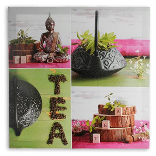 xekios Tableau Bouddha Tea Lin 50 x 50 cm