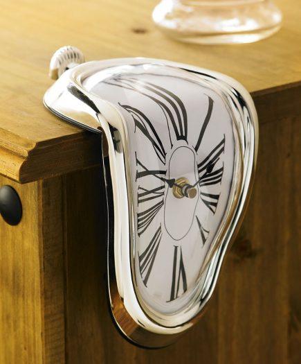 xekios Horloge Fondue de Dali Melting Time