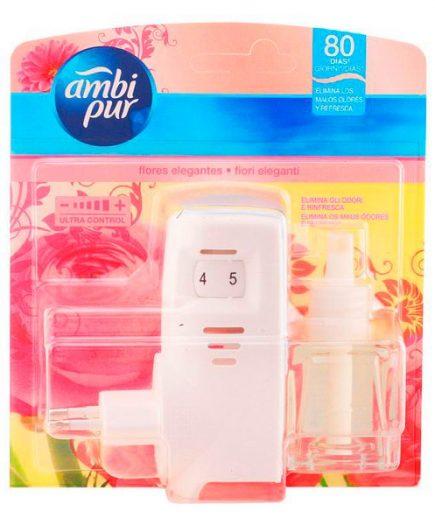 xekios Ambi Pur - AMBIPUR ambientador electrico completo elegante 21,5 ml