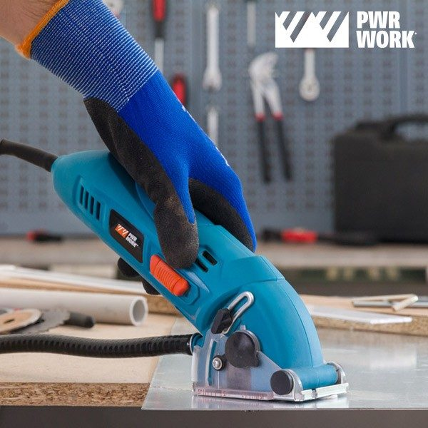 xekios Scie Circulaire Compacte All-Materials Mini Saw PWR WORK