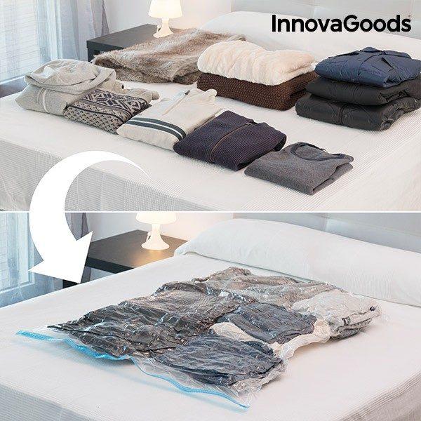 xekios Sac sous Vide pour Vêtements InnovaGoods (100 x 130 cm)