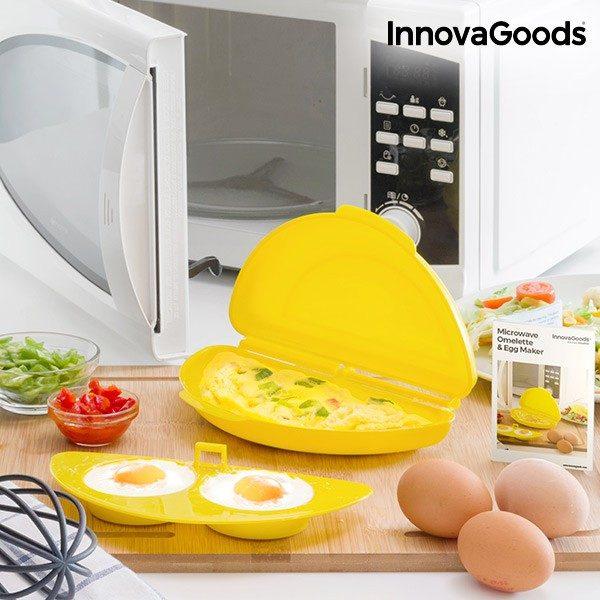 xekios Cuiseur de Tortilla pour Micro-Ondes InnovaGoods