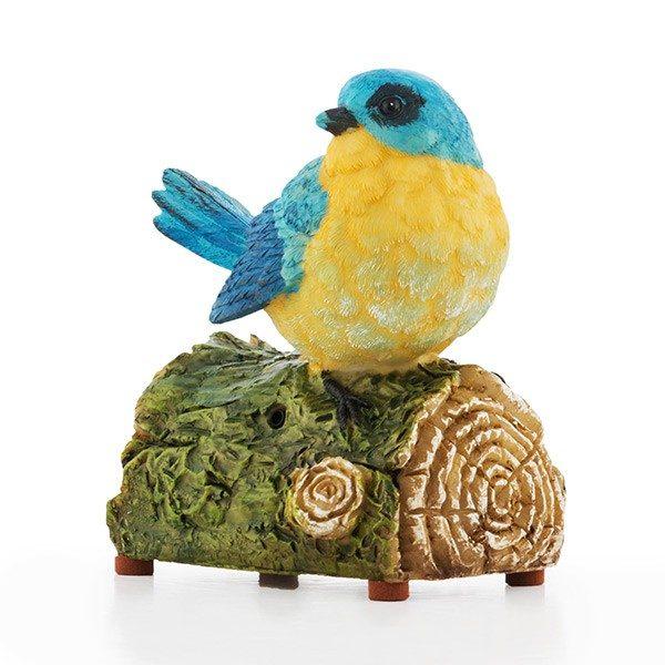 xekios Oiseau Décoratif avec Son et Détecteur de Mouvement