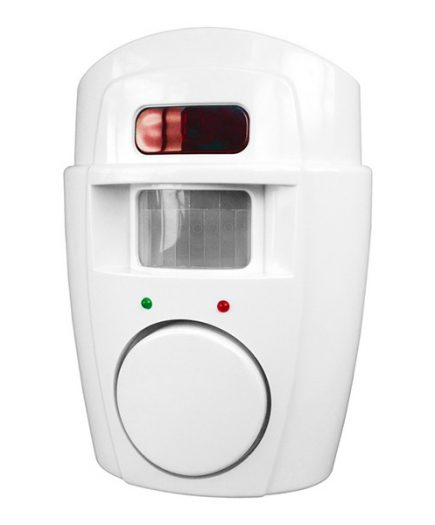 xekios Alarme avec Capteur de Mouvements et 2 Télécommandes Smartwares SC09