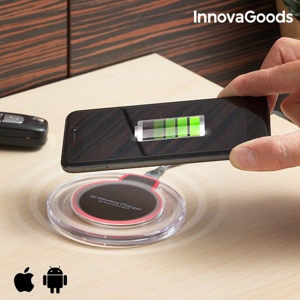 xekios Chargeur Sans Fil pour Smartphones Qi InnovaGoods